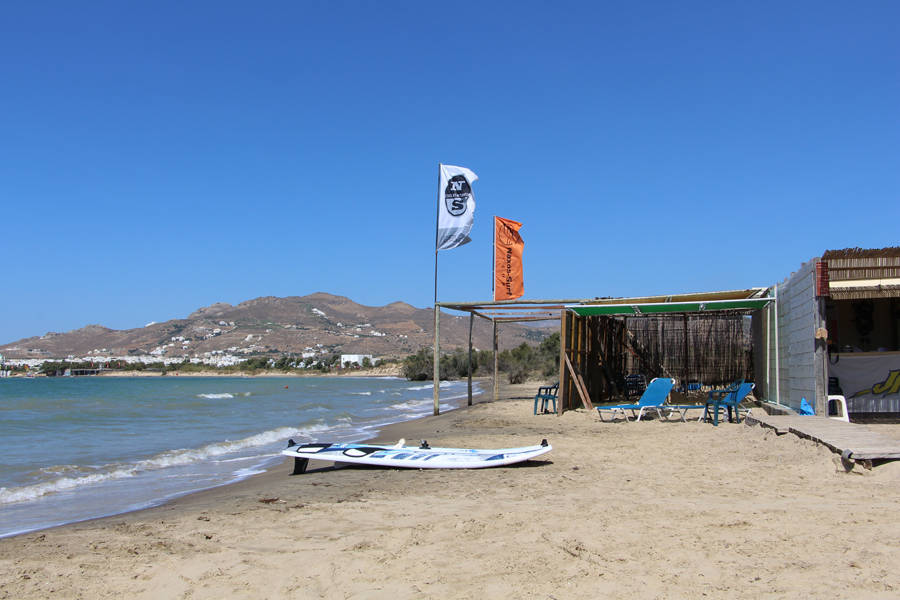 windsurfing center Naxos Surf Club