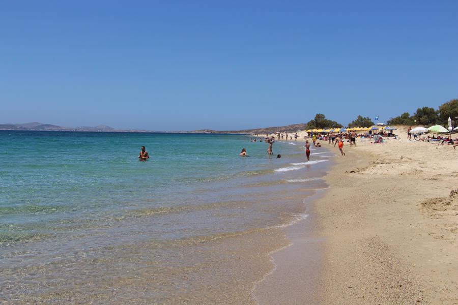 Naxos maragas beach