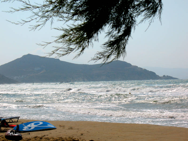 Windsurfing Beach Naxos